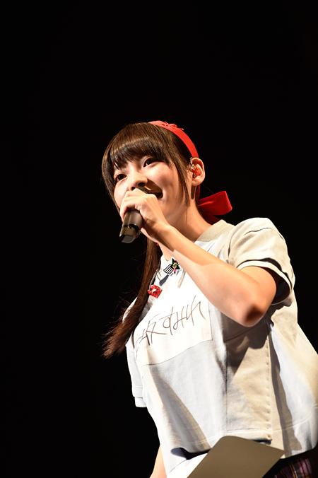 上坂すみれ 2015年11月1日に東京・品川ステラボールで行われたファンクラブイベントの様子