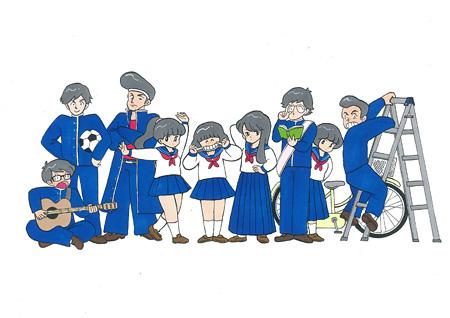 ロロメンバービジュアル ©ボブa.k.aえんちゃん