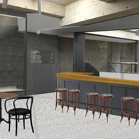 SEZON ART GALLERY地下1階内観イメージビジュアル