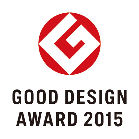 2015年度『グッドデザイン賞』ロゴ