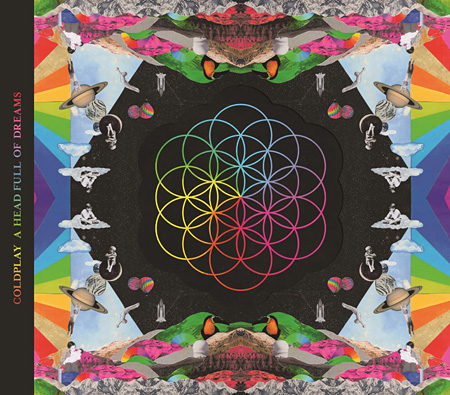 Coldplay『A Head Full Of Dreams』ジャケット