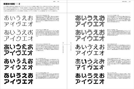 『アイデア・ドキュメント 文字とタイポグラフィの地平』より