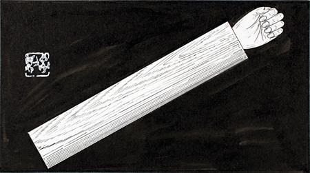 瀬戸内晴美『幻花』挿画 焼野(六)1974~75年 作家蔵