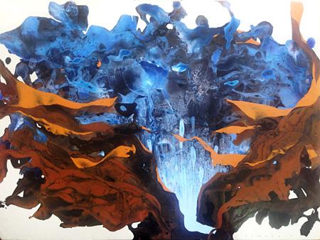 ロム・ヴィラセラン『Blue Fruit II』