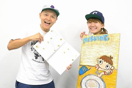 左からBose(スチャダラパー)、福岡晃子(チャットモンチー)