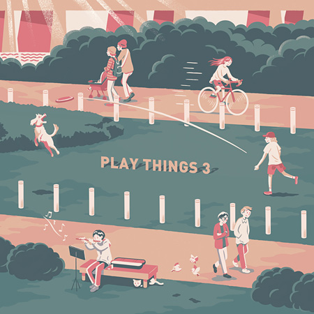 V.A.『PLAYTHINGS 3』ジャケット