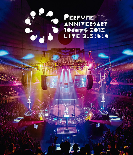 Perfume『Perfume Anniversary 10days 2015 PPPPPPPPPP「LIVE 3:5:6:9」』通常盤Blu-rayジャケット