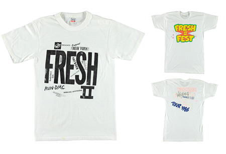 『RAP TEES: A Collection of Hip-Hop T-Shirts 1980-1999』より