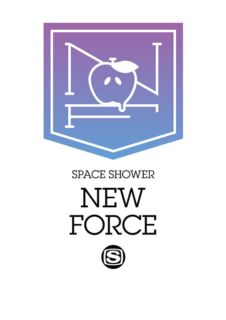 『SPACE SHOWER NEW FORCE』ロゴ