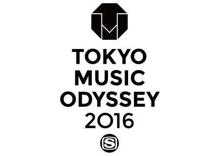 『TOKYO MUSIC ODYSSEY 2016』ロゴ