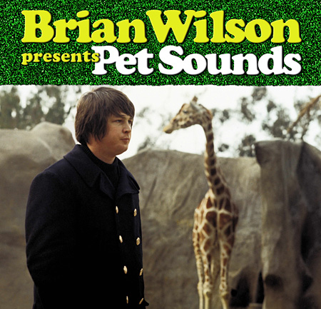 "『BRIAN WILSON 50 Anniversary of""PET SOUNDS""JAPAN TOUR』メインビジュアル"