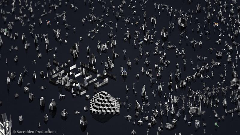 『第19回文化庁メディア芸術祭』アニメーション部門 大賞『Rhizome』Boris LABBÉ ©Sacrebleu Productions