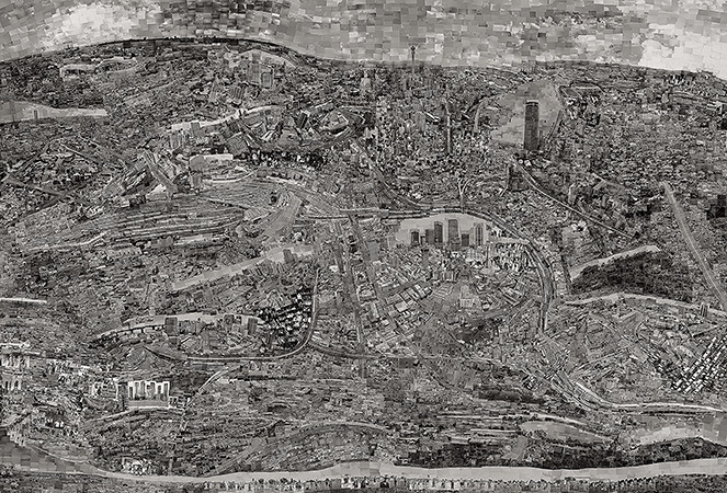 Diorama Map Johannesburg Courtesy of Michael Hoppen Gallery ©Sohei Nishino