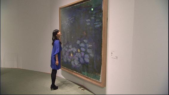 小西真奈美 『日曜美術館「アートの旅 みつけよう、美 秋編」』より
