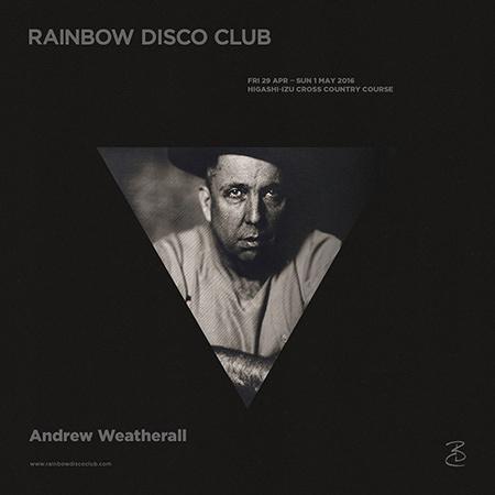 『RAINBOW DISCO CLUB 2016』ビジュアル