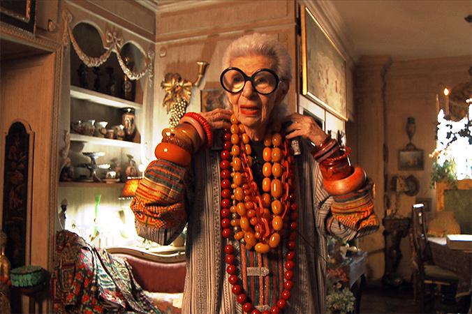 『アイリス・アプフェル!94歳のニューヨーカー』 ©IRIS APFEL FILM, LLC.