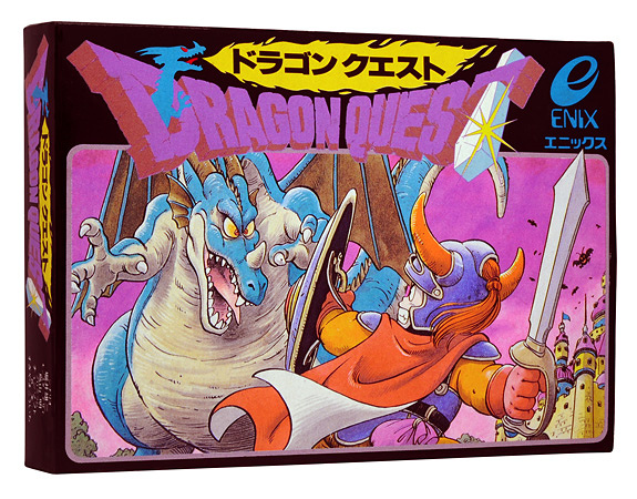 『ドラゴンクエストI』パッケージビジュアル ©1986 ARMOR PROJECT/BIRD STUDIO/SPIKE CHUNSOFT/SQUARE ENIX All Rights Reserved.