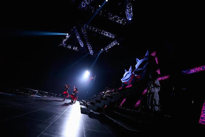 『BABYMETAL WORLD TOUR 2015 -THE FINAL CHAPTER OF TRILOGY-』より Photo: Taku Fujii