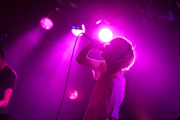 HOWL BE QUIET 2015年12月19日に愛知・名古屋のell.FITS ALLで開催された『チャンス到来TOUR』最終公演の様子 撮影:Takeshi Yao