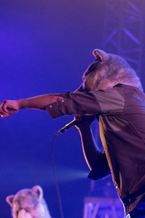MAN WITH A MISSION 2015年12月20日に開催された『MERRY ROCK PARADE 2015』より