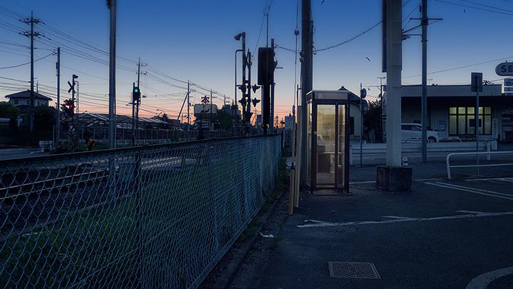『Calling(日本編)』アニメーション、ループ(7分)、シングルチャンネルビデオ、2014年