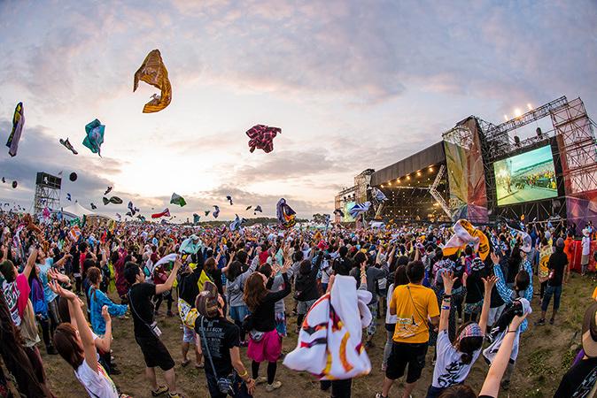 『RISING SUN ROCK FESTIVAL 2015 in EZO』会場風景