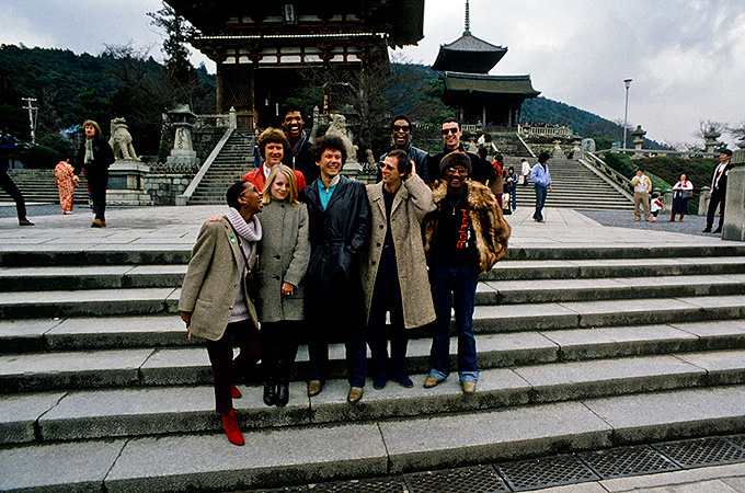 TALKING HEADS 1981 ©Koh Hasebe / Shinko Music Archives