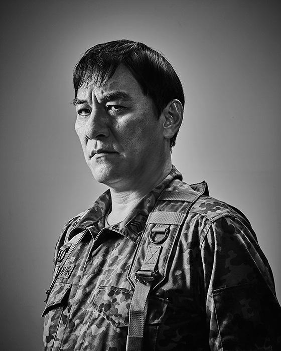 大河原勲役のピエール瀧