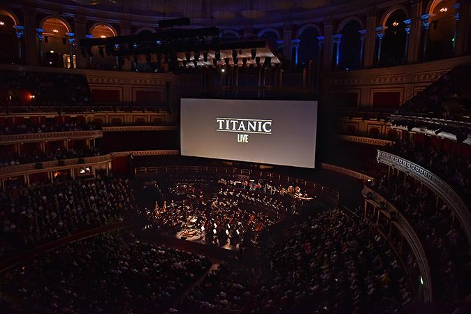 『タイタニック in コンサート』2015年4月27日ロンドン公演 ©Paul Sanders