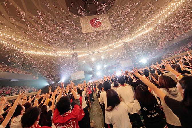 SHISHAMO 1月4日日本武道館公演より