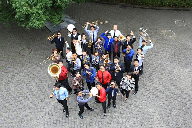 Asian Youth Jazz Orchestra 日本リハーサル時 ©Tokoko Hidaki(写真提供:国際交流基金アジアセンター)