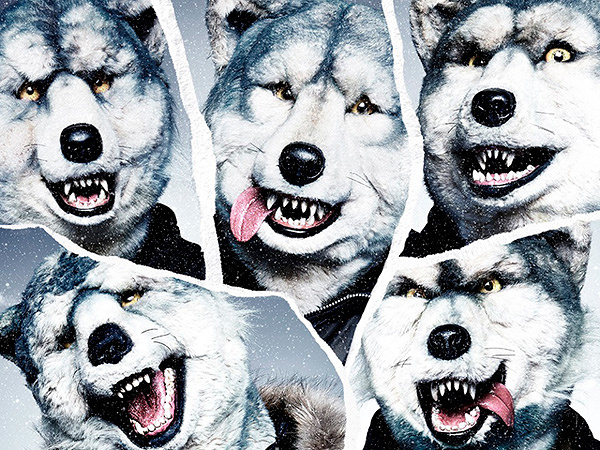 MAN WITH A MISSION『The World's On Fire』通常盤ジャケット