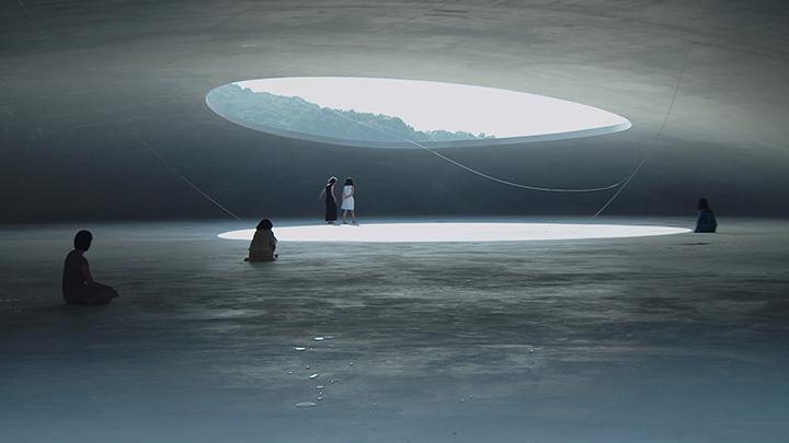 『あえかなる部屋 内藤礼と、光たち』(監督:中村佑子) ©TV MAN UNION / YOICHI NAGANO