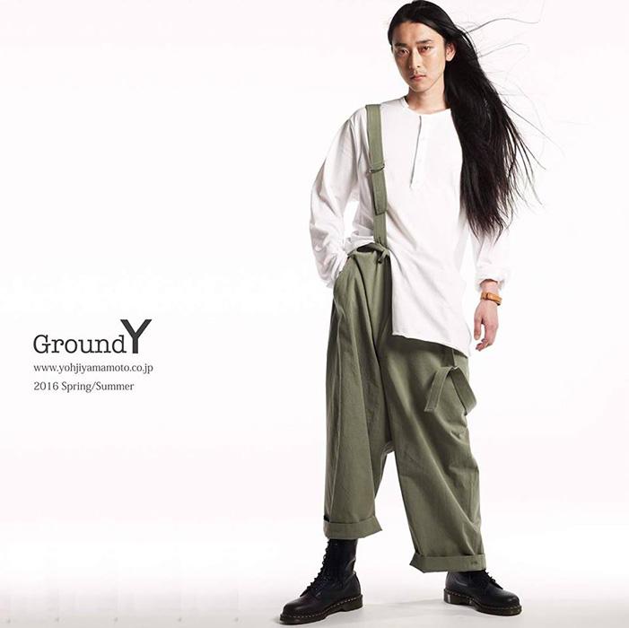 「Ground Y」2016春夏コレクションのイメージビジュアル