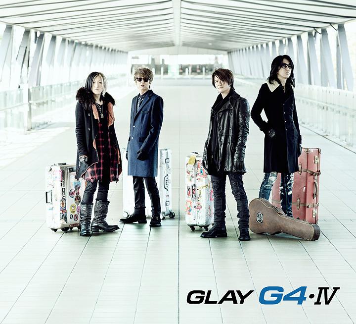 GLAY『G4・IV』ジャケット