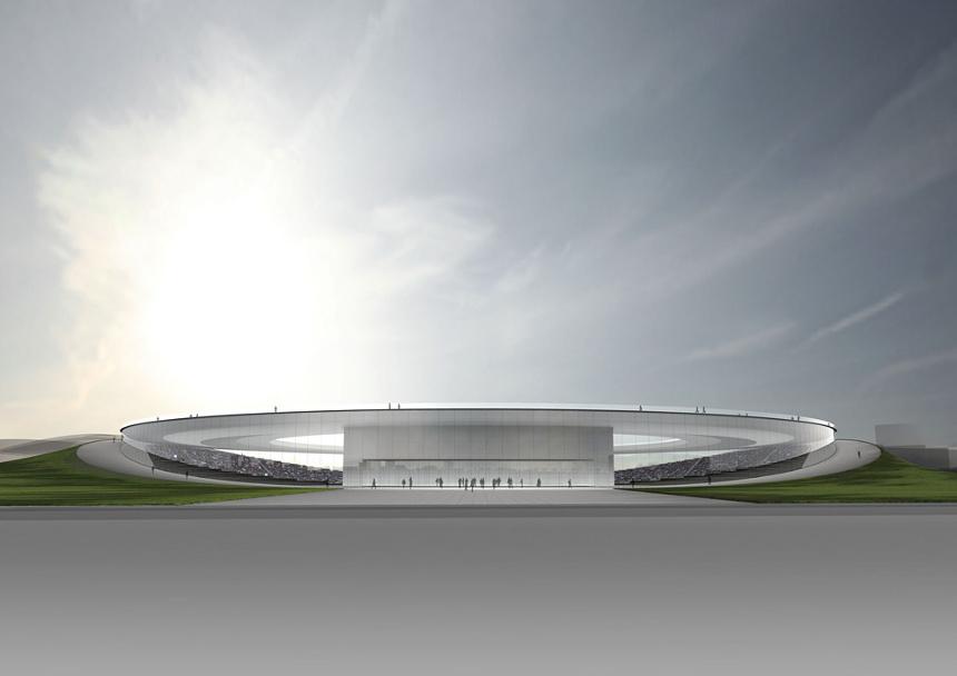 吉岡徳仁による新国立競技場 建築案