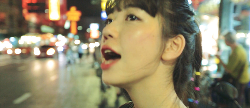 """永原真夏""""リトルタイガー""""PVより"""