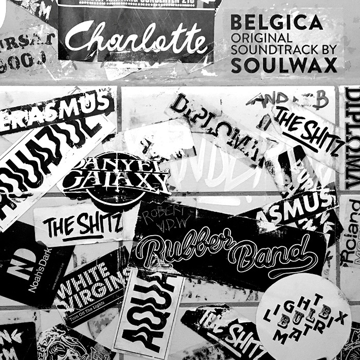 V.A.『Belgica - Original soundtrack by Soulwax』ジャケット