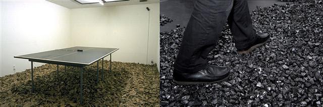 藤本由紀夫展『Broom(Coal)/ Tokyo』イメージビジュアル copyright the artist, courtesy to ShugoArts