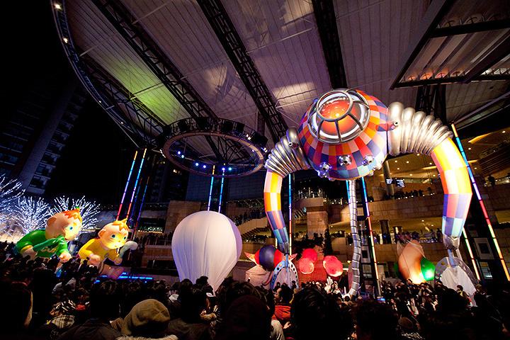 『六本木アートナイト 2010』の様子 ©六本木アートナイト実行委員会