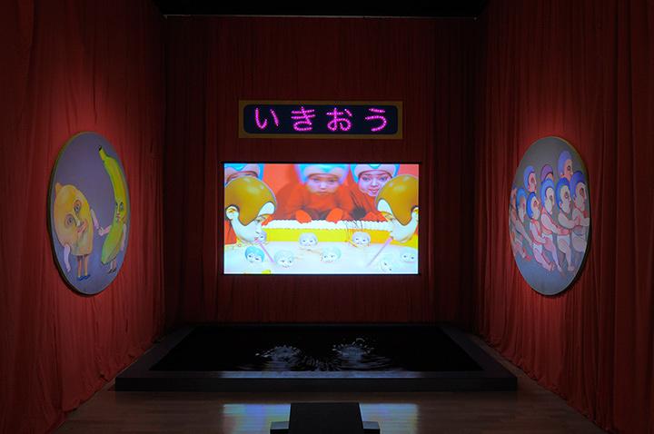 特別賞 笹岡由梨子『Atem』 写真提供:川崎市岡本太郎美術館