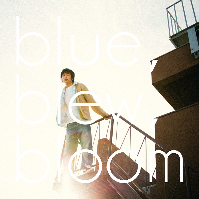 "Superendroller LIVE""scene02""『blue , blew , bloom』メインビジュアル"