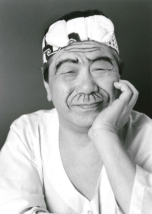 赤塚不二夫 撮影:荒木経惟