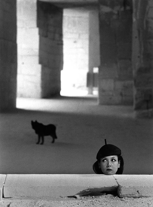 ロベール・ドアノー『ボー・ド・プロヴァンスのサビーヌ・アゼマ、1991年』 ©Atelier Robert  Doisneau/Contact 京都会場展示作品