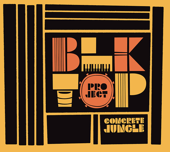 BLKTOP PROJECT『CONCRETE JUNGLE』ジャケット