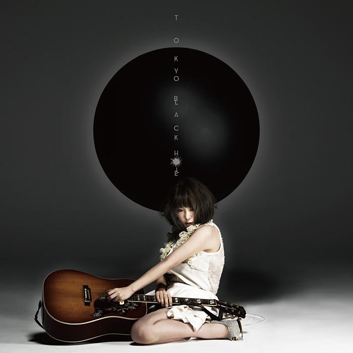 大森靖子『TOKYO BLACK HOLE』黒盤ジャケット