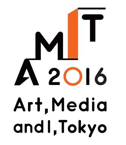 『AMIT(Art, Media and I, Tokyo)2016』ロゴ
