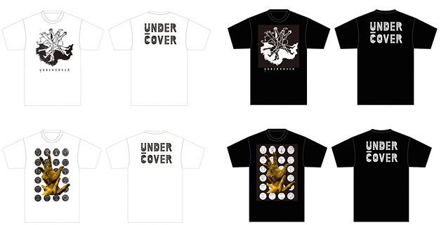 UNDERCOVERとTOMATOのコラボレーションTシャツ