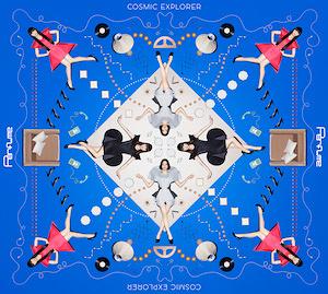 Perfume『COSMIC EXPLORER』初回限定盤ジャケット