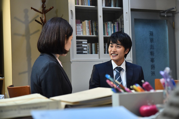 磯崎賢役の中村蒼 ©2016「嫌な女」製作委員会